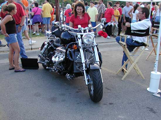 Custom 8.2-liter Motorcycle