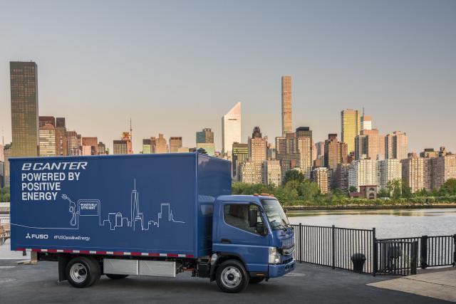 UPS Adds Mitsubishi Fuso eCanter Electric Truck To Its US Fleet