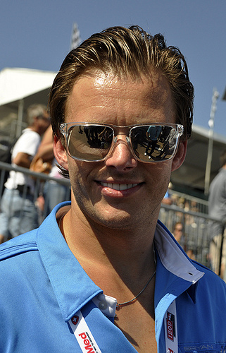 Dan Wheldon. Photo by 2011 Anne Proffitt