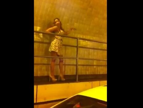 Dancing in the Queens Midtown Tunnel