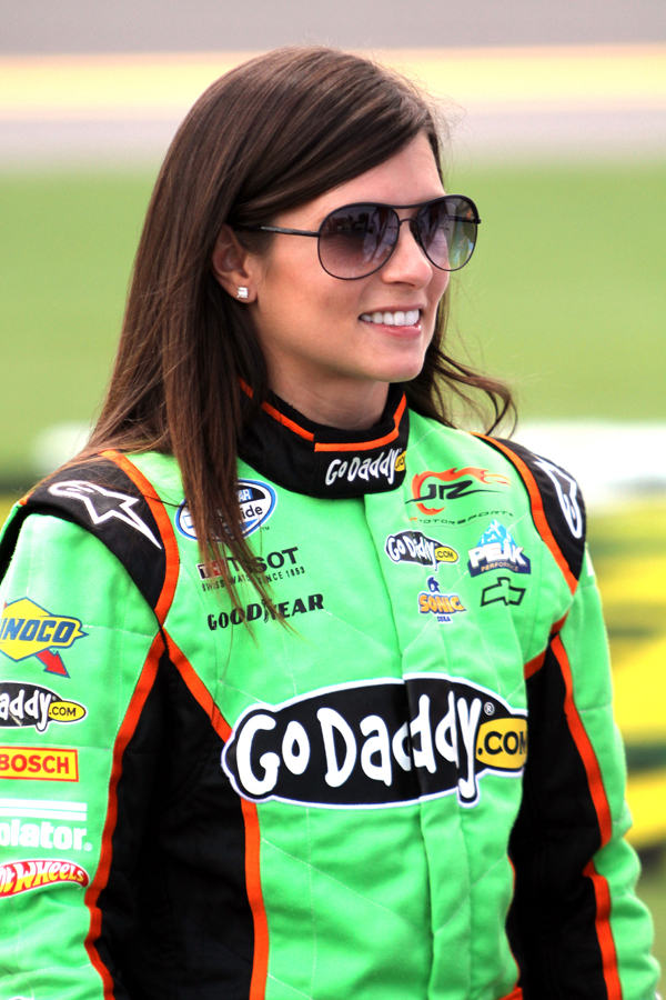 Danica Patrick - NASCAR photo from Daytona International Speedway