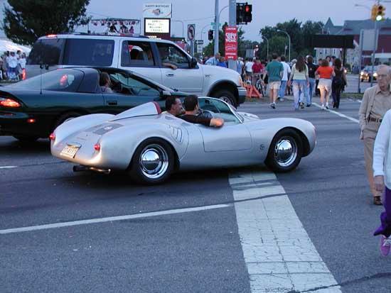 Dean's Porsche Spyder