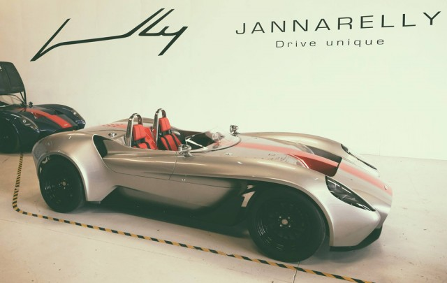 Delivery of first Jannarelly Design-1