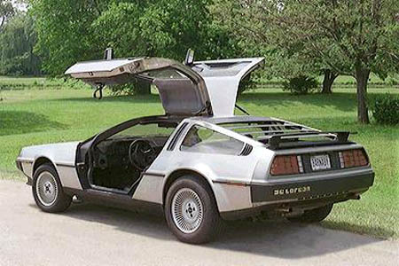 DeLorean - rear