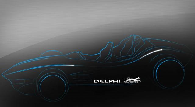 Delphi-Sbarro Franco F1for3 Concept teaser