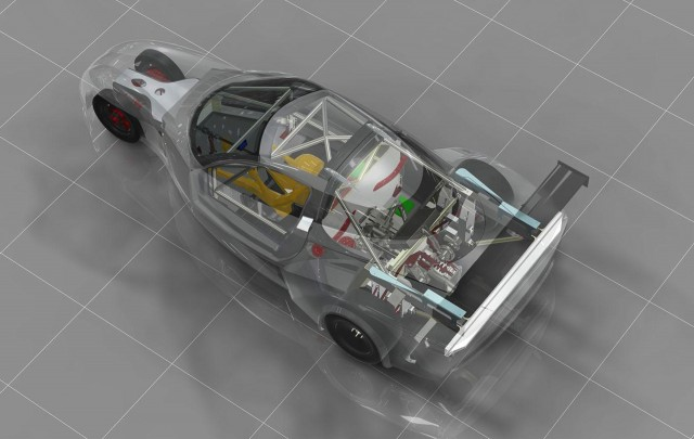 DeltaWing GT race car concept