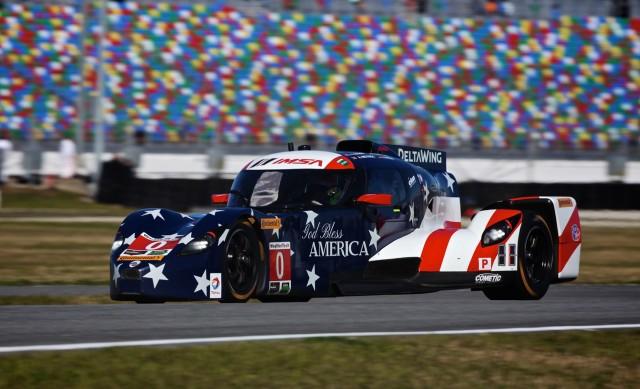 DeltaWing race car at 2016 Rolex 24 at Daytona