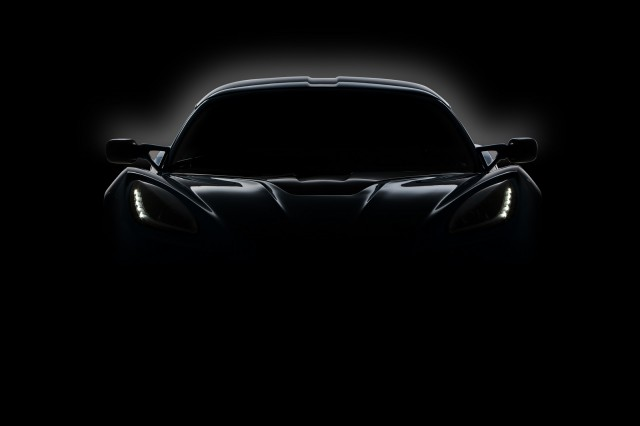 Detroit Electric all-electric two-seat sports car teaser photo, March 2013