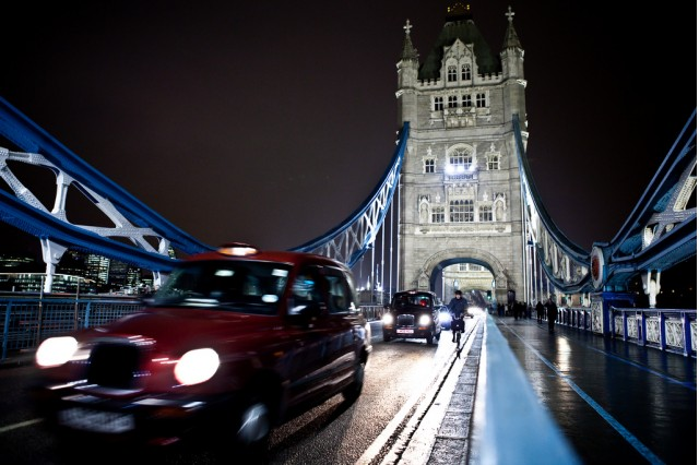 Diesel taxis in London (Image by Flickr user Lars Ploughmann, used under CC license)