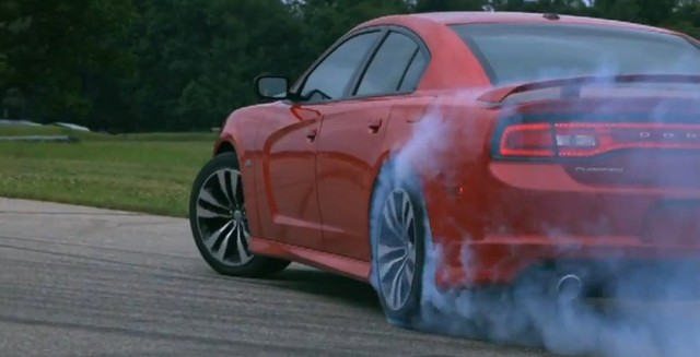 Dodge Charger SRT8 drifting