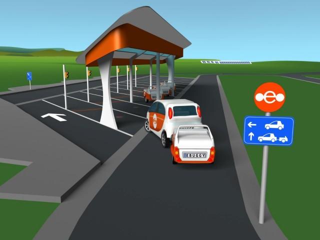 Ebuggy electric range-extending trailer concept