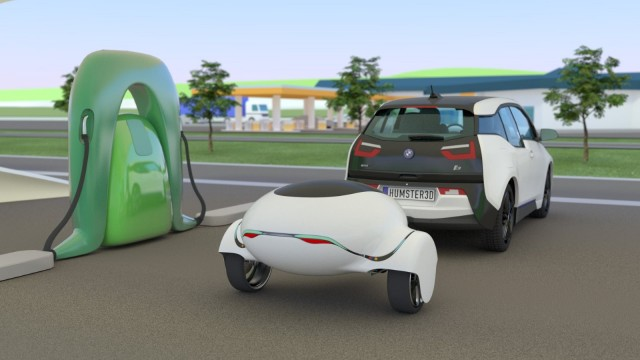 Ebuggy electric range-extending trailer concept