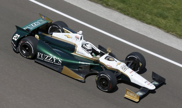 Ed Carpenter at the 2013 Indianapolis 500