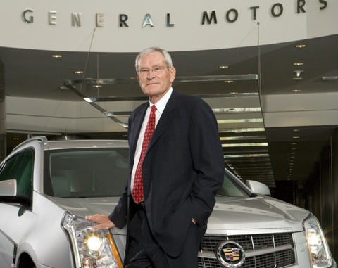 BREAKING: General Motors CEO Ed Whitacre To Step Down Sept 1