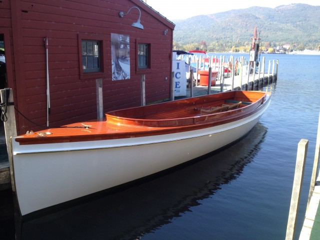Elco Motor Yachts - 1899 'Wenona' launch - electric boat