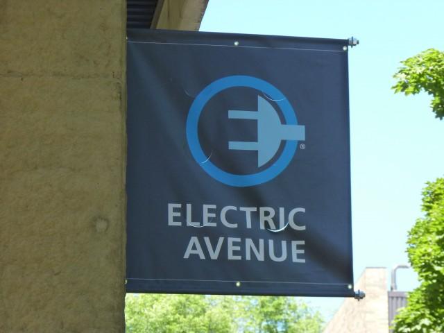 Electric Avenue  -  Portland, OR