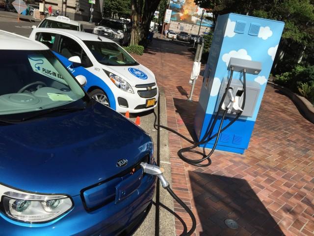 Electric Avenue rededication, Portland, July 2015