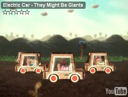 Electric Car video, by They Might Be Giants