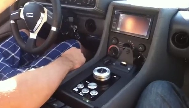 Electric DeLorean DMCEV-12