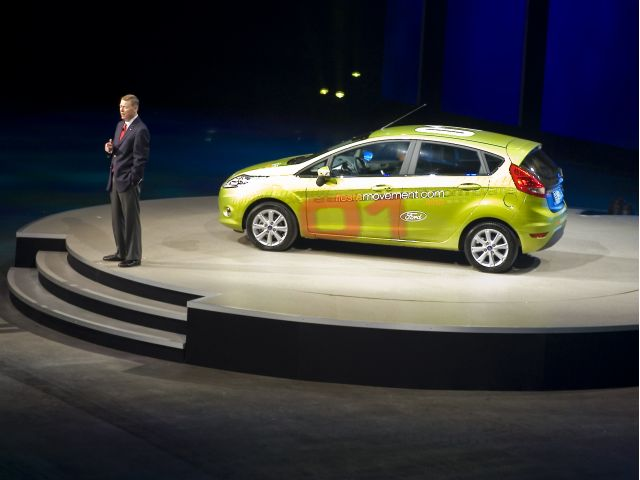 Electric Ford Fiesta
