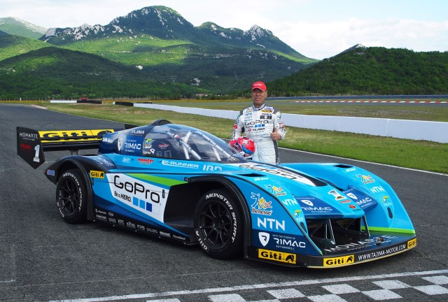Electric racer to be driven by Nobuhiro 'Monster' Tajima in 2015 Pikes Peak Hill Climb