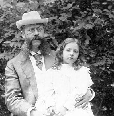 Emil Jellinek and daughter Mercedes