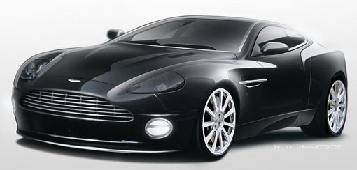 End of production for the Aston Martin Vanquish