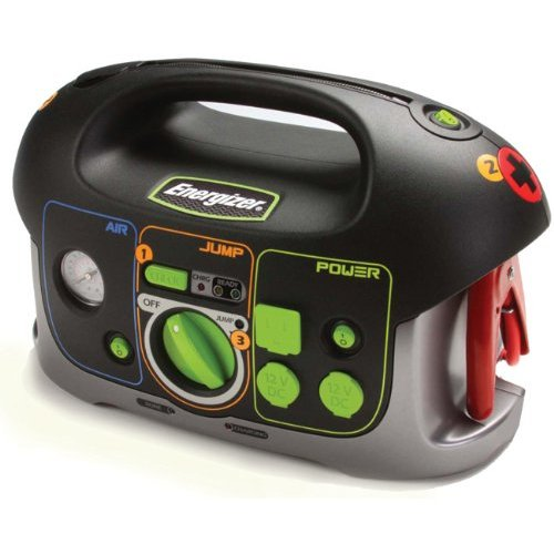 Energizer 84020 12V All-In-One Jump-Start System with Built-In Air Compressor and Power Inverter
