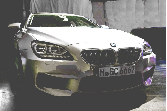 Enhanced version of BMW M6 Gran Coupe teaser image