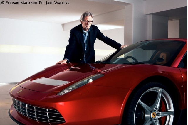 Eric Clapton's custom Ferrari SP12 EC