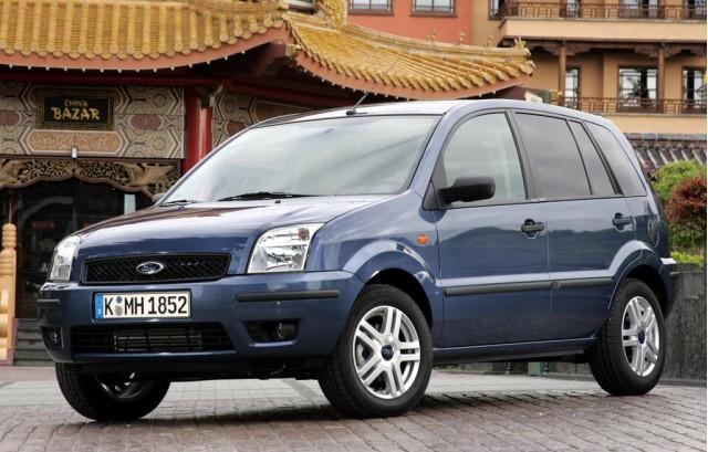 European Ford Fusion B-segment minivan