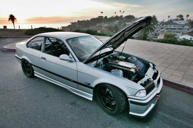 EV West's electric BMW M3