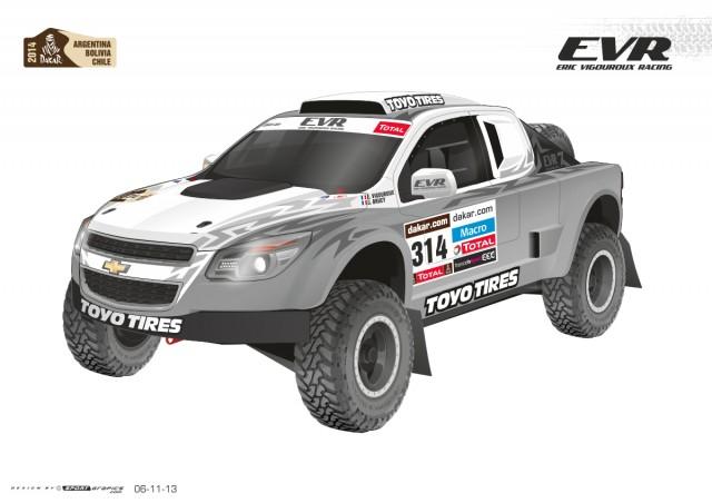 EVR Proto VX 101 Rally Raid Concept Dakar race truck