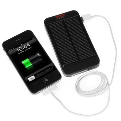 EZOPower Portable Solar External Backup Battery Charger