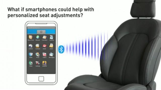 Faurecia's SmartFit Bluetooth-linked seats