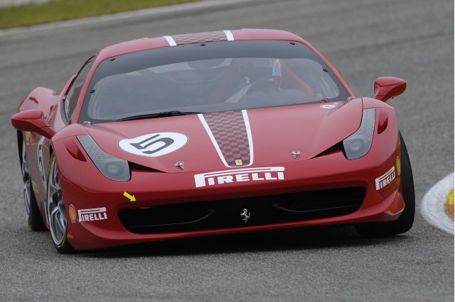 Ferrari 458 Challenge race car