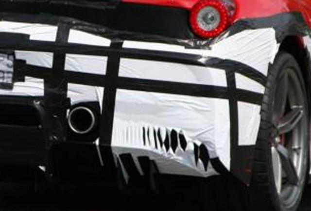 Ferrari 458 'Scuderia' spy shots - Image: Autogespot