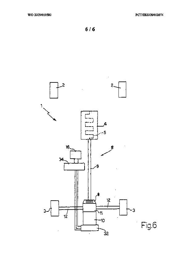 ferrari 4wd hybrid patent 006