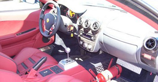 Ferrari 599 GTB and F430 with conventional manuals