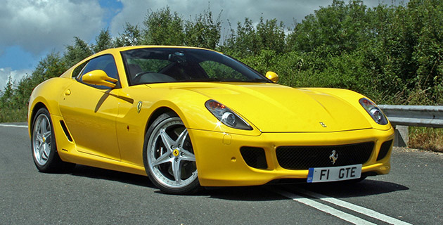 The 599 HGTE is only 1.5s slower around Ferrari's Fiorano test track than the significantly lighter and stiffer F430 Scuderia
