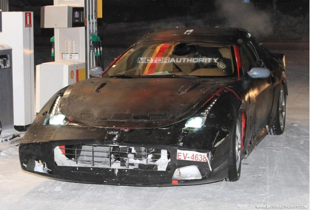 Ferrari 612 Scaglietti Shooting Brake spy shots