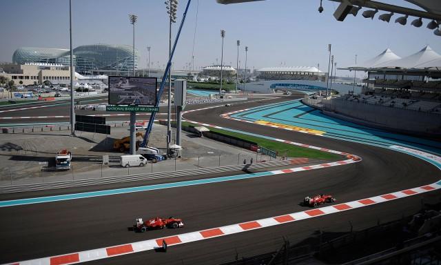 Ferrari at the 2012 Formula 1 Abu Dhabi Grand Prix