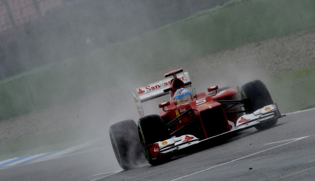 Ferrari at the 2012 Formula 1 German Grand Prix