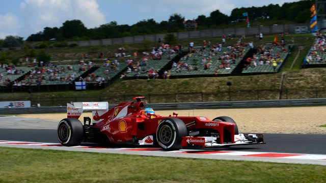 Ferrari at the 2012 Formula 1 Hungarian Grand Prix