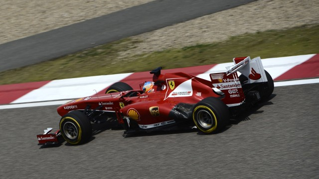 Ferrari at the 2013 Formula 1 Chinese Grand Prix