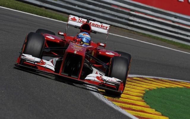 Ferrari at the 2013 Formula One Italian Grand Prix