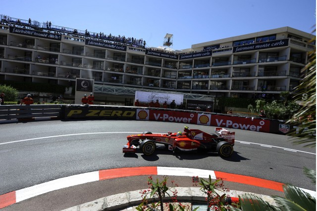 Ferrari at the 2013 Formula One Monaco Grand Prix