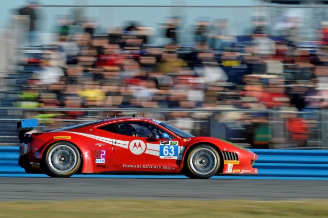 Ferrari at the 2014 Daytona 24 Hours