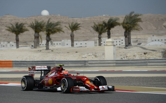 Ferrari at the 2014 Formula One Bahrain Grand Prix
