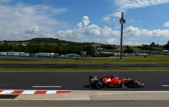 Ferrari at the 2014 Formula One Hungarian Grand Prix